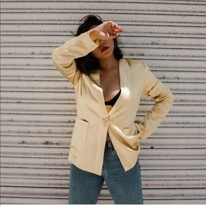 Gold blazer (second photo is true to color)